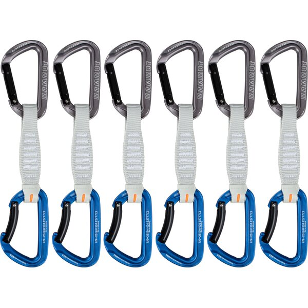 Mammut Workhorse Keylock 6-Pack Quickdraws 12cm, 17cm